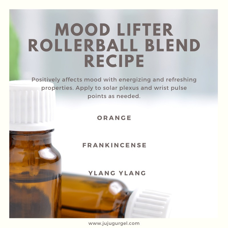 mood lifter rollerball  essential oil blend recipe