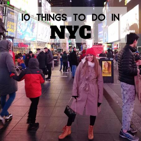 10 things you must do when visiting New York during the winter