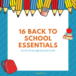 16 back to school essentials