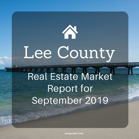Lee County Real Estate Market Report for September 2019