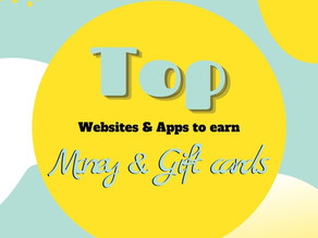 Top websites to make money, earn cash back and gift cards