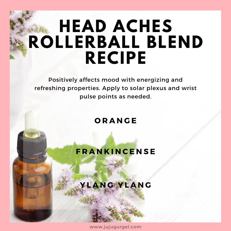 headaches rollerball essential oil recipe