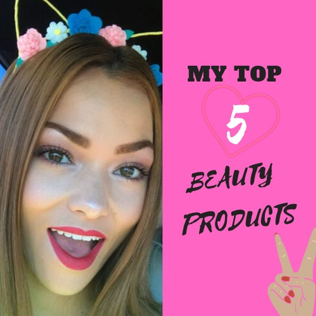 My Top 5 Beauty Products for Spring 2019