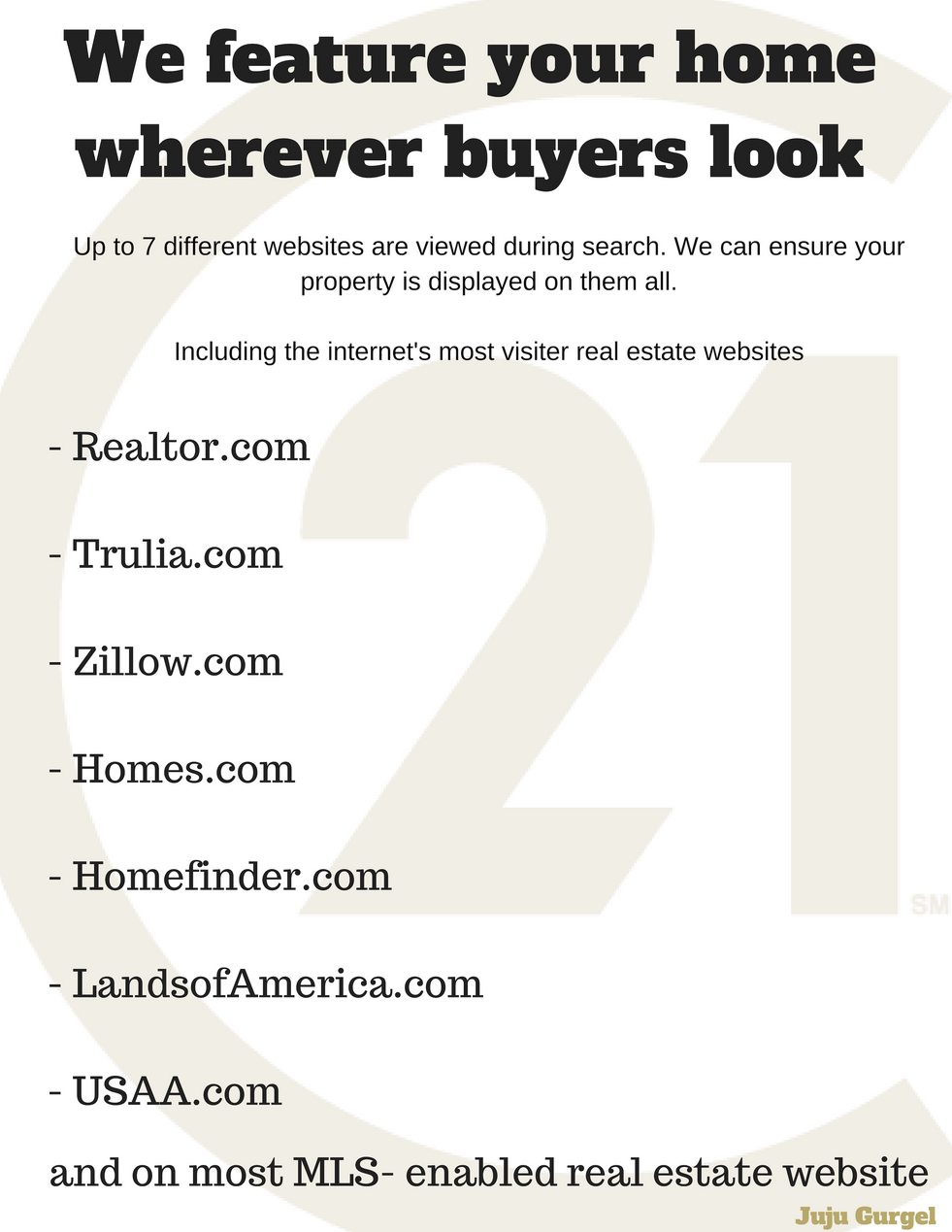We feature your home wherever buyers look