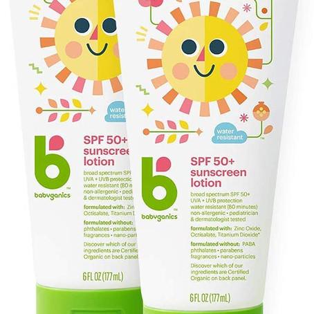 $13.01 (reg $22.98) Babyganics Sunscreen Lotion 50 SPF *limited deal