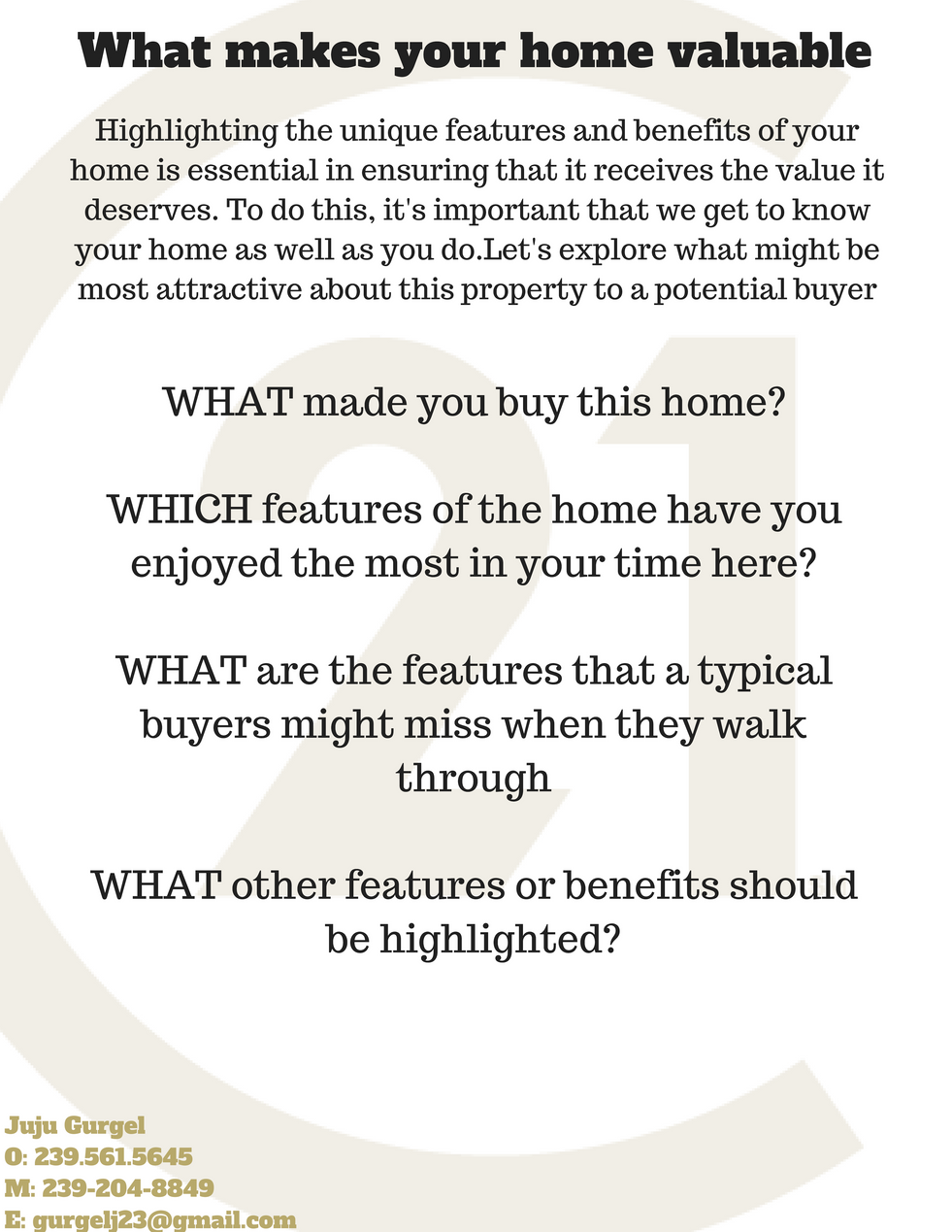 What makes your home valuable