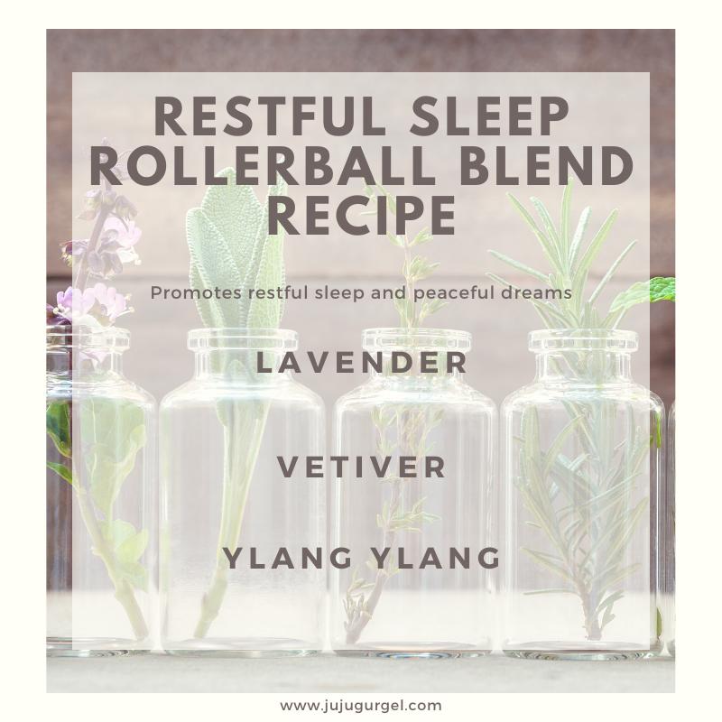 restful sleep rollerball essential oil recipe