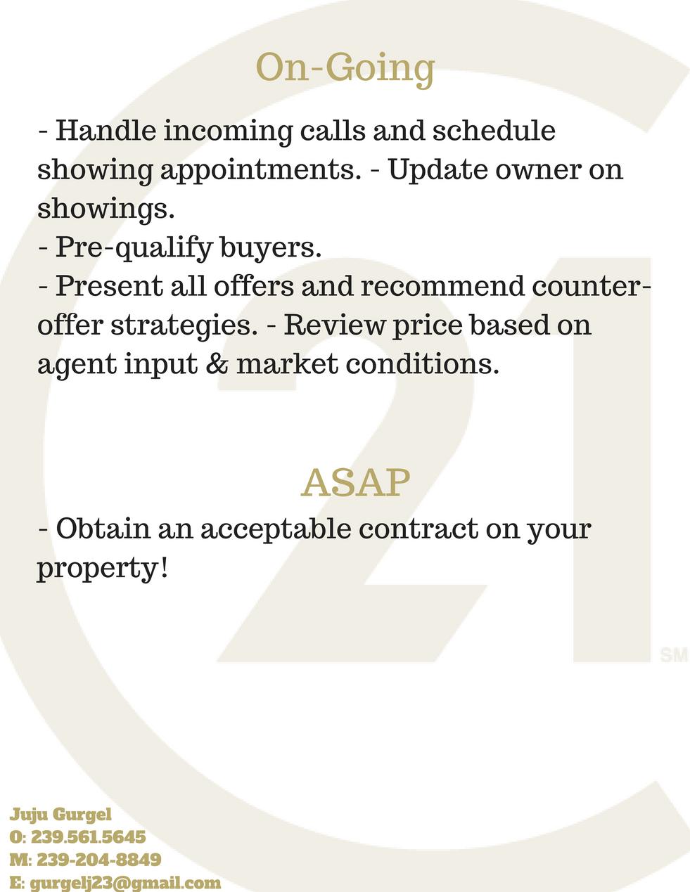 Marketing Plan of Action