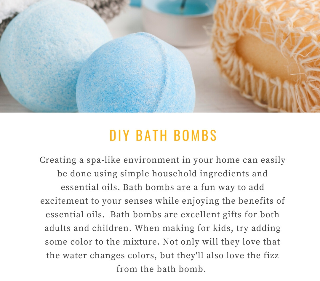 DIY bath bombs and why they are so great