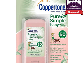 $5.23 (reg $8.99) Coppertone Pure & Simple Baby SPF 50 Sunscreen Stick *limited deal