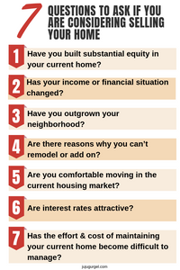 7 questions to ask if you are considering selling your home
