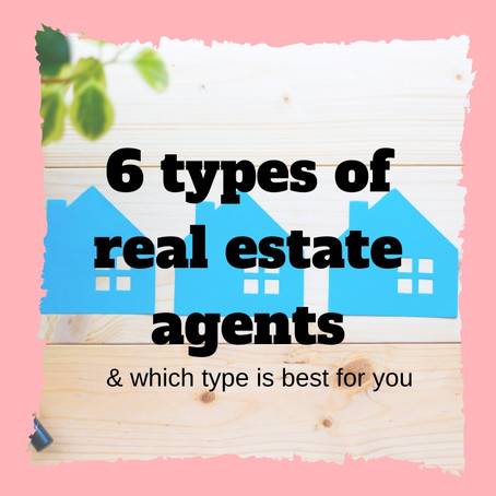 The 6 different types of real estate agents and what each one means | Real Estate Tips