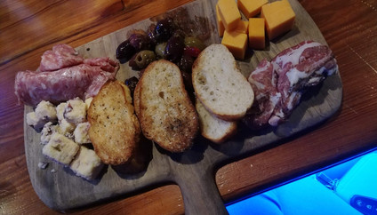 Artisan Cheese and Charcuterie board