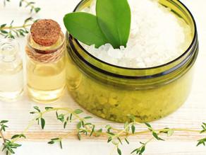 DIY Lavender Eucalyptus Bath Salt using essential oils