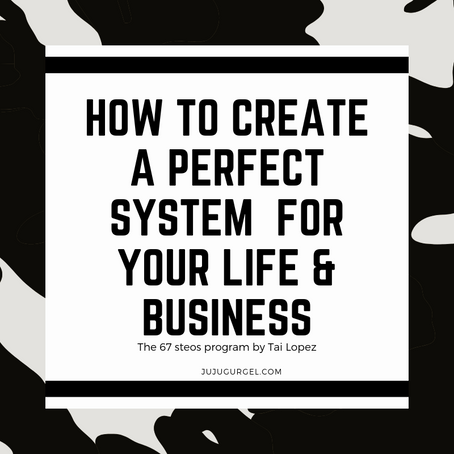 The 67 steps program | Step 26 | Creating Perfect Systems