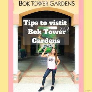 tips to visit Bok Tower gardens