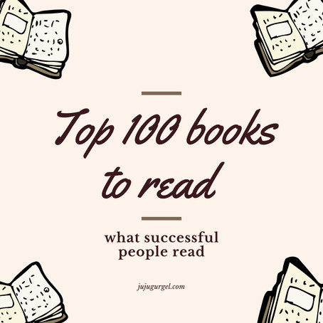 Top 100 books to read | what successful people read