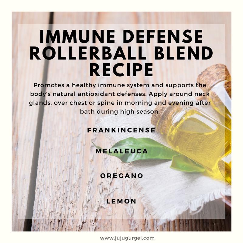immune defense rollerball essential oil recipe