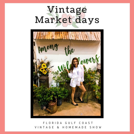 Antique & Vintage Decor shopping | Vintage Market Days South Gulf Coast Florida