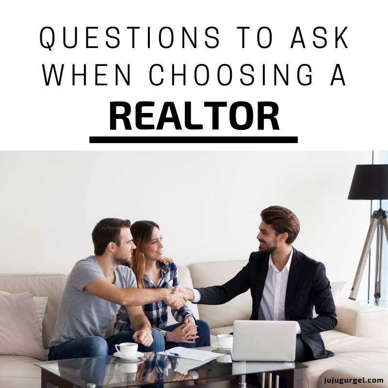 questions to ask when choosing a realtor