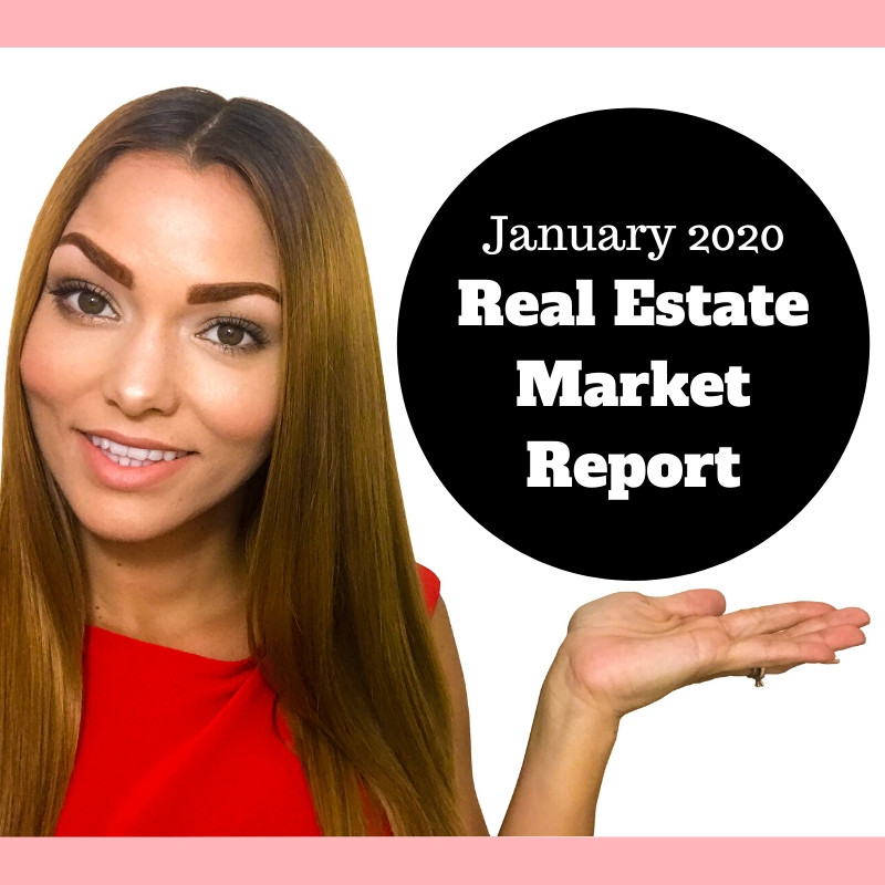 Real estate market report for January 2020
