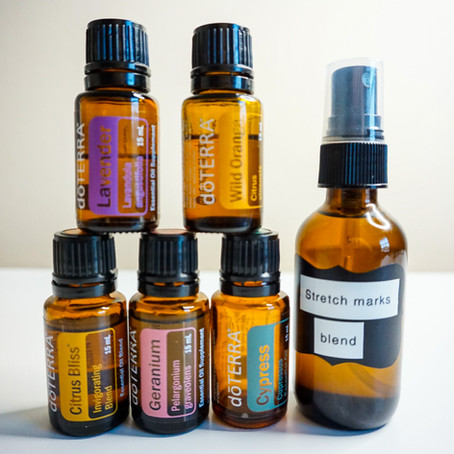 DIY Stretch mark oil using only natural ingredients