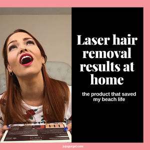laser hair removal results at home