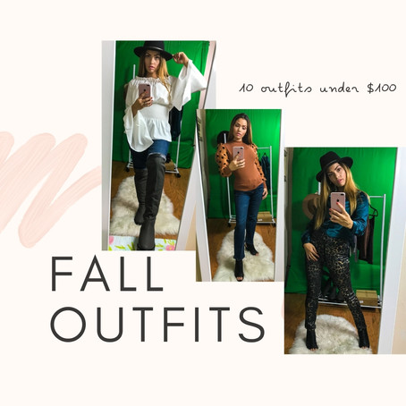 10 fall outfits for under $100