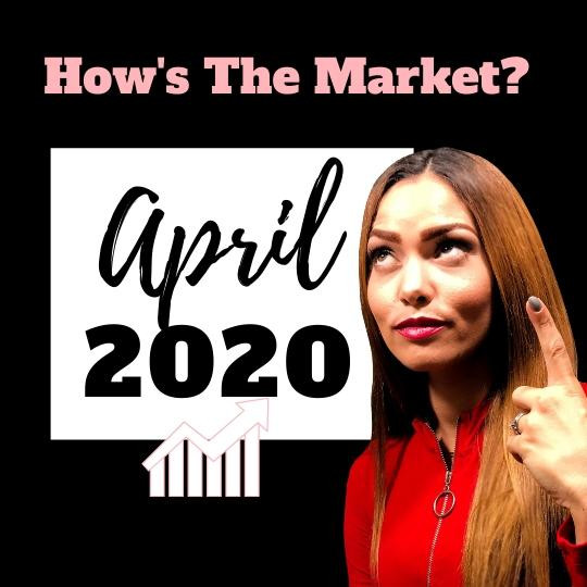 how's the real estate market in April 2020