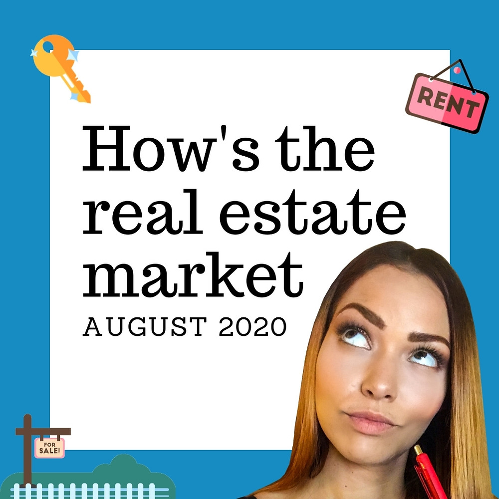 "girl looking up at ""how's the real estate market august 2020"""