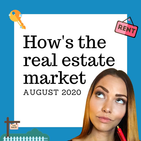 How's the real estate market | August 2020