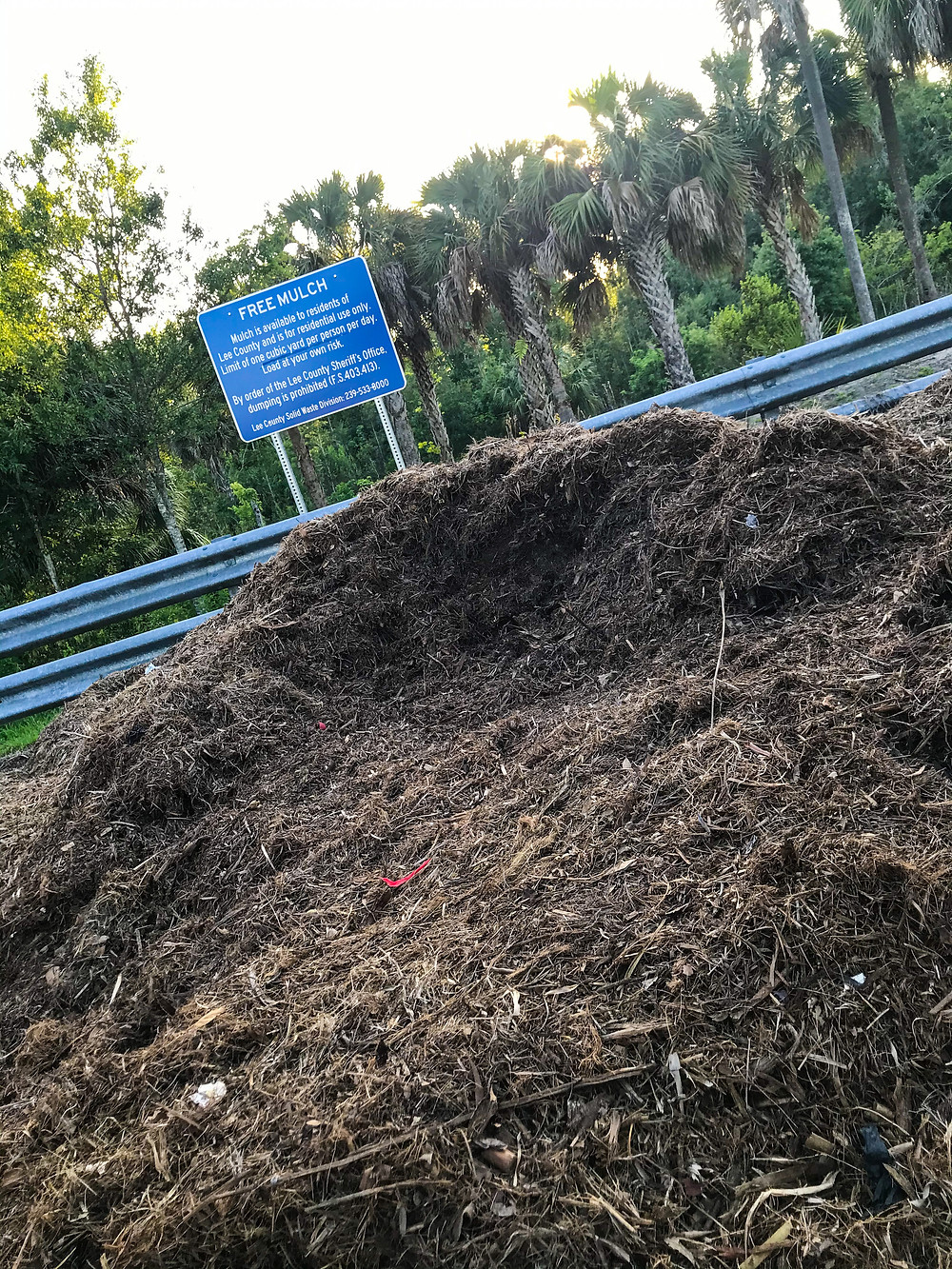 Free compost in Lee County, Florida