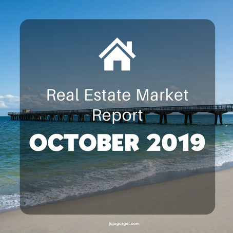 October 2019 Real Estate Market Report Snapshot