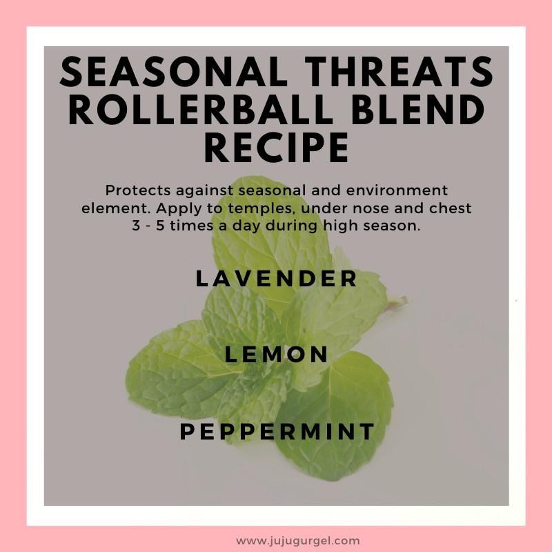seasonal threats rollerball essential recipe