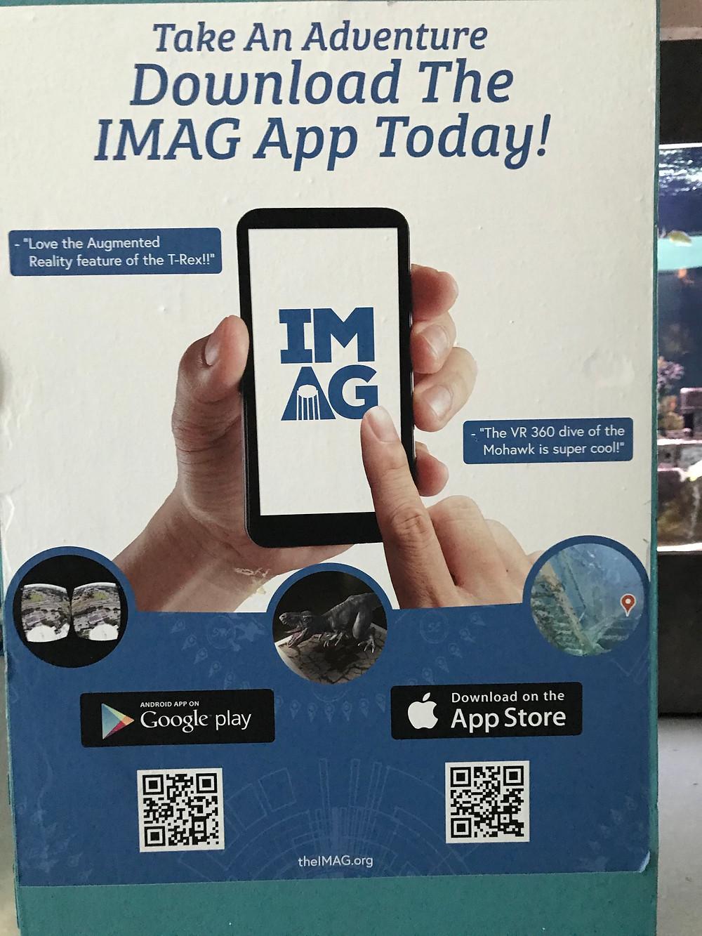 Download the IMAG App