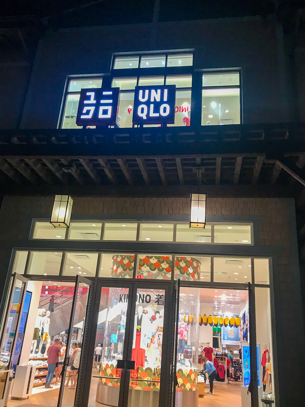Great exclusive Disney merchandise at Uniqlo at Disney Springs