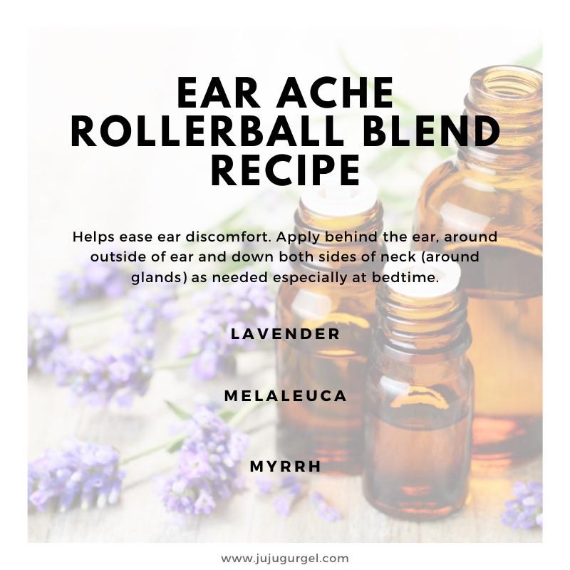 earache rollerball essential oil blend recipe