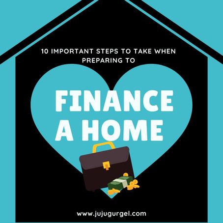 10 important steps to take when preparing to finance a property