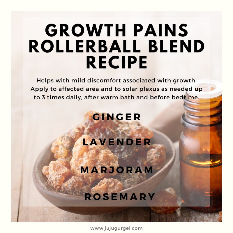 growth pains rollerball essential oil blend recipe