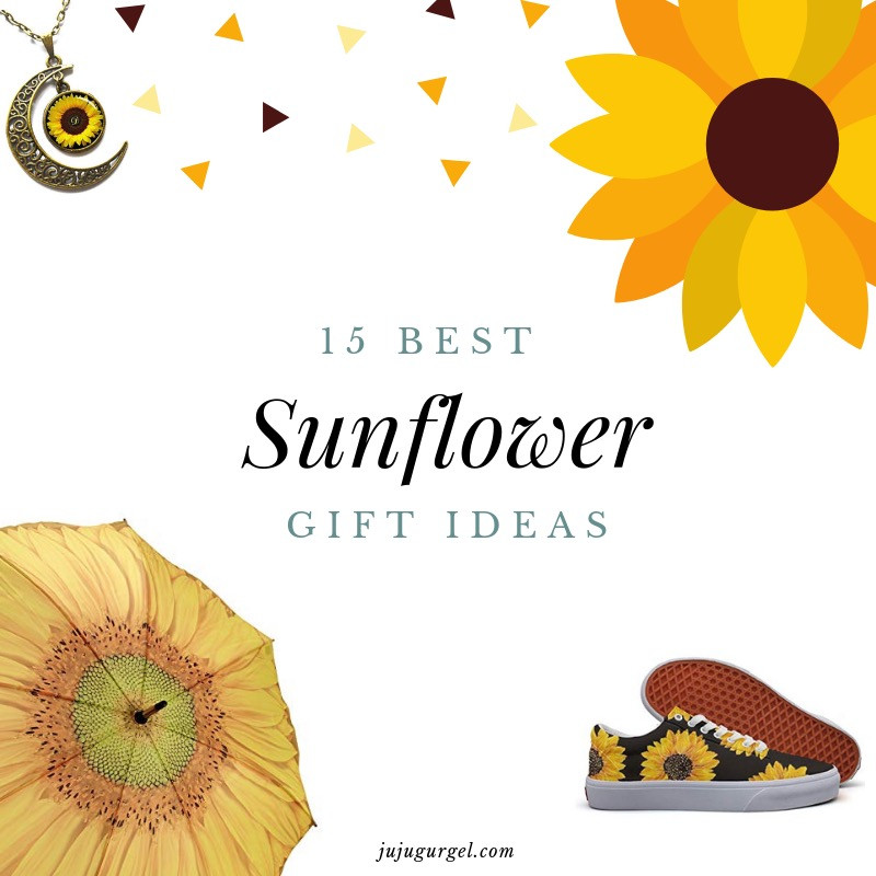 15 best sunflower gift ideas
