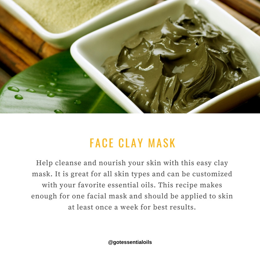Face Clay mask