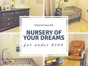How to have the nursery of your dreams for under $500