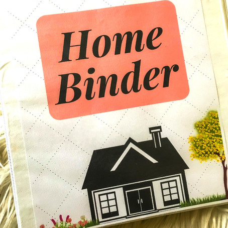How to create a homeowner management binder
