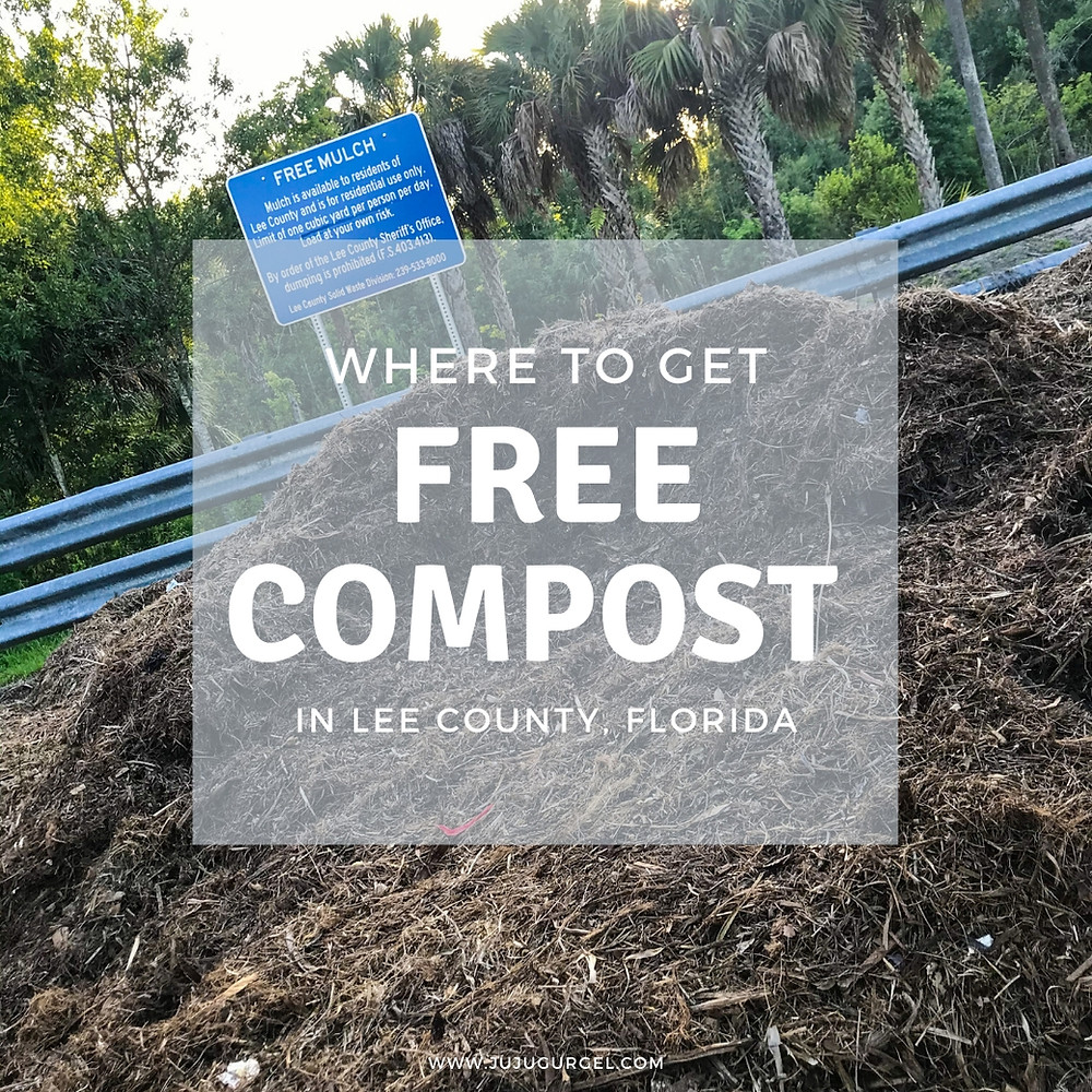 where to get free compost in Lee County, Florida