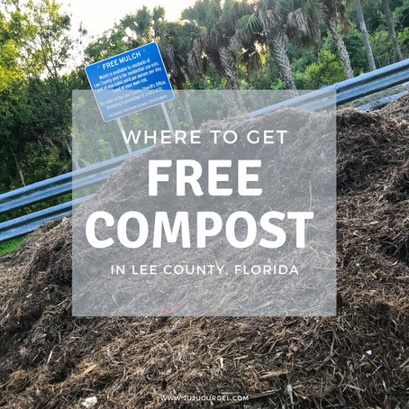 Compost and where to get it for free in Lee County, Florida