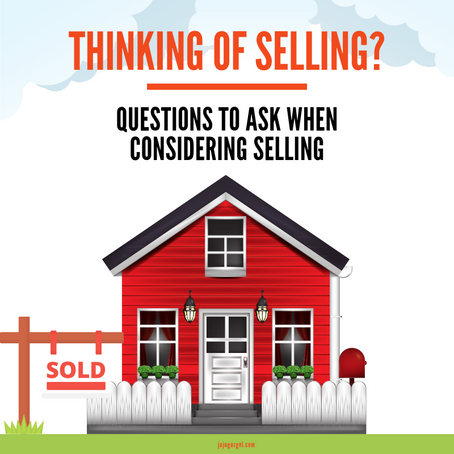 7 Questions to Ask When Considering Selling