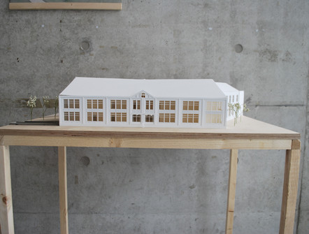 Maquette oude situatie