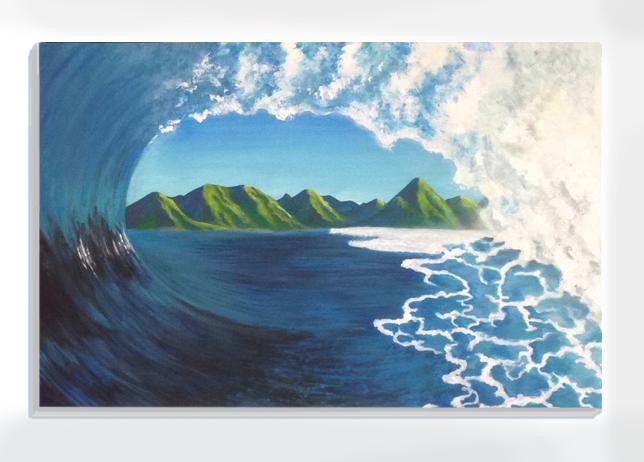 Wave - Tahiti beach
