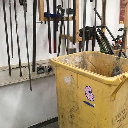 Wood Workshop - Bezalel academy