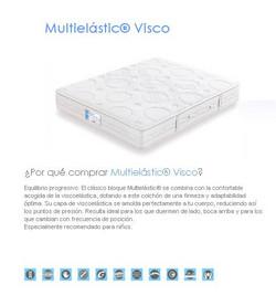 COLCHON FLEX MULTIELASTIC VISCO